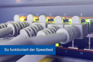 DSL Speedtest Funktion