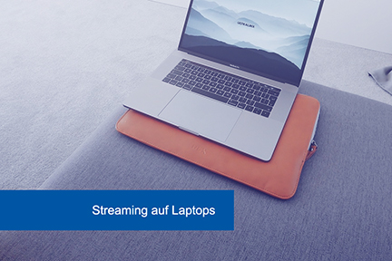 Streaming Seiten Laptop